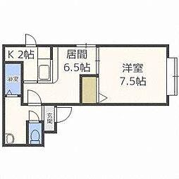 トミイビルNo.27[2階]の間取り