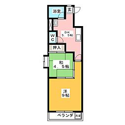 新日ビル豊明マンション[6階]の間取り