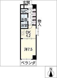 FOUR LEAVES前田[7階]の間取り