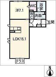 仮)D−room伏屋[1階]の間取り