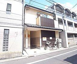 京都府京都市中京区錦小路通猪熊西入下瓦町の賃貸アパートの外観