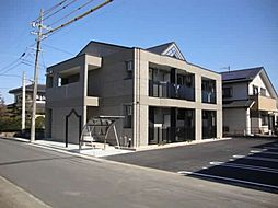 愛知県江南市尾崎町若竹の賃貸アパートの外観