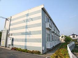 兵庫県宝塚市山本南1丁目の賃貸アパートの外観