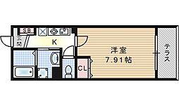 ジェイドコート酉島[1階]の間取り