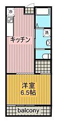 宮崎県宮崎市清武町木原の賃貸アパートの間取り
