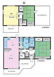 [一戸建] 埼玉県上尾市中分1丁目 の賃貸【/】の間取り