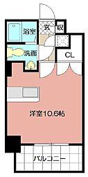 No.63オリエントキャピタルタワー[715号室]の間取り