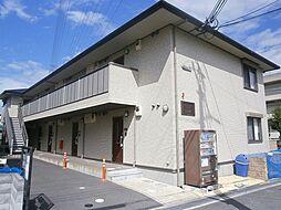 大阪府茨木市鮎川4丁目の賃貸アパートの外観