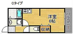 グランドコートエヌ[1階]の間取り