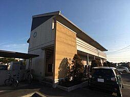 愛知県一宮市大和町妙興寺字仏供田の賃貸アパートの外観