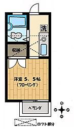 サンマリノ[2-B号室]の間取り
