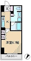 アパートメンツ巣鴨[6階]の間取り