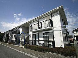埼玉県上尾市向山1丁目の賃貸アパートの外観
