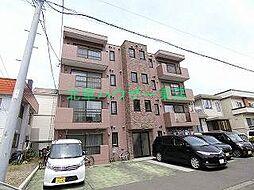 北海道札幌市東区北三十八条東2丁目の賃貸マンションの外観