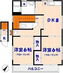 TNハウス[2F号室]の間取り