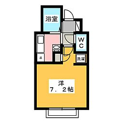 CASA・15[3階]の間取り