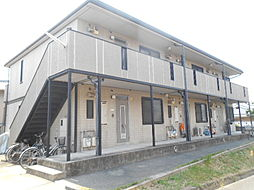 大阪府堺市西区浜寺元町5丁の賃貸アパートの外観