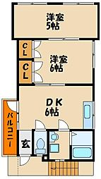 [一戸建] 兵庫県明石市西明石西町1丁目 の賃貸【/】の間取り