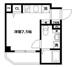 ルクティア富士見台[301号室]の間取り
