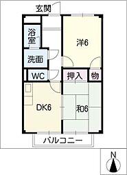 サープラスY・S[2階]の間取り