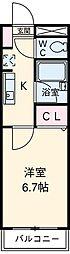 サンセードル湘南[3階]の間取り