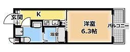 サンクチュアリ城垣[1階]の間取り