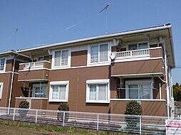 栃木県芳賀郡益子町大字塙の賃貸アパートの外観