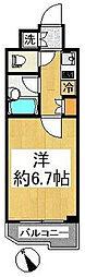 ルーブル喜多見[3階]の間取り