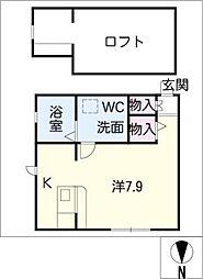プリマフェニーチェ壱番館[2階]の間取り