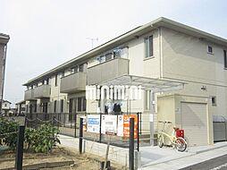 岡山県岡山市南区福島3の賃貸アパートの外観