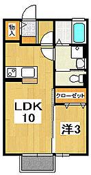 CO-MIKA プロバンス館[2階]の間取り