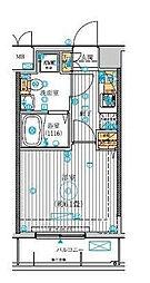 ル・リオン南砂町[2階号室]の間取り