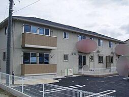 愛知県知立市山屋敷町富士塚の賃貸アパートの外観