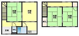 【敷金礼金0円!】名鉄三河線 若林駅 徒歩18分