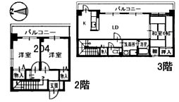 M's Square[2階]の間取り