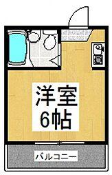 ピロティシャトー[2階]の間取り
