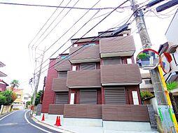 東京都練馬区石神井台2丁目の賃貸アパートの外観