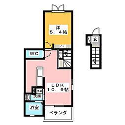 カルーム・セナ[2階]の間取り