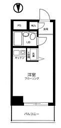 東京都豊島区巣鴨5の賃貸マンションの間取り