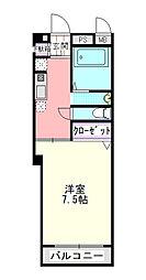 コスモ21[304号室]の間取り