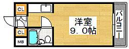 トキヤビル[4階]の間取り