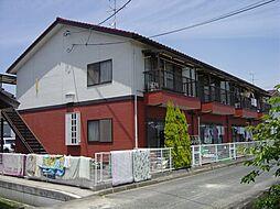 岡山県倉敷市帯高の賃貸アパートの外観