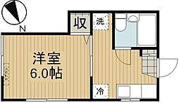 ラヴィ—東戸塚[1階]の間取り