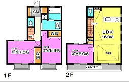 Familiar House (ファミリアハウス)[1階]の間取り