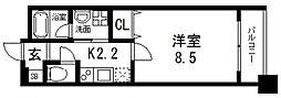 オルゴグラート鶴見[4階]の間取り