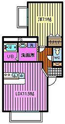 sato house[2階]の間取り