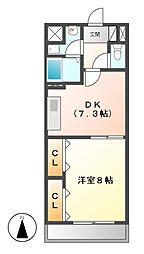 シェソワ21[2階]の間取り