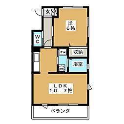 NGMII[2階]の間取り