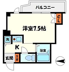 ラトゥール守口二番館[3階]の間取り