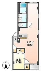 仮)グランレーヴ東別院EAST[3階]の間取り